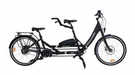 Tandem Pedalpower Double Deep noir