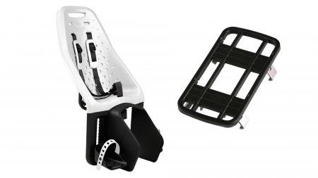 Siège enfant Yepp Maxi blanc avec adaptateur pour porte-bagage classique