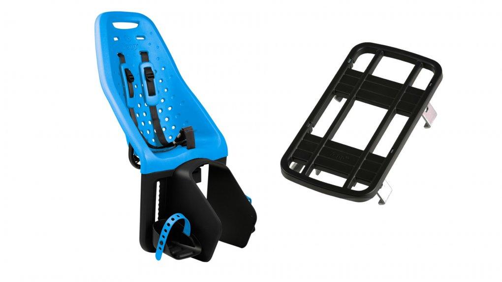 Siège enfant Yepp Maxi Bleu avec adaptateur pour porte-bagage classique