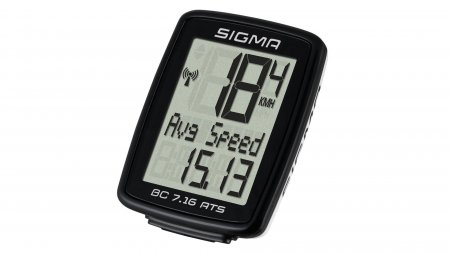 Compteur de vélo sans fil Sigma