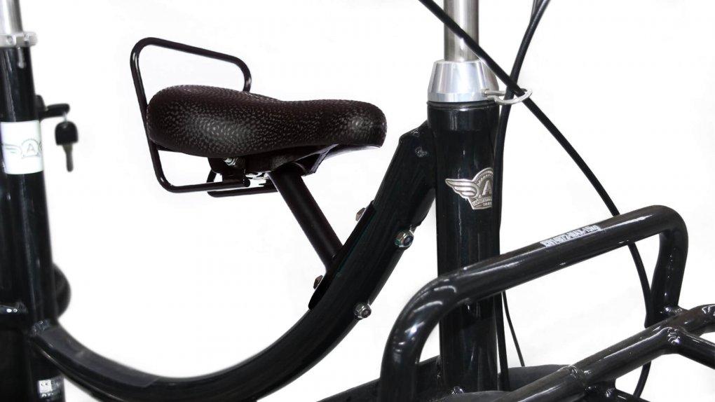 Selle enfant avant (vélo avec porte-bagage avant)