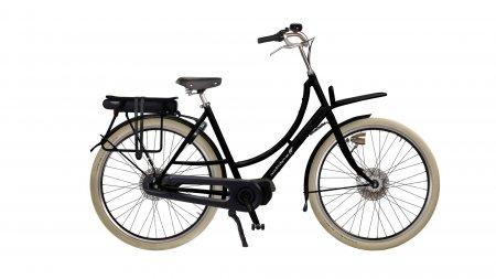 Vélo électrique Double Dutch moteur pédalier, option selle Brooks