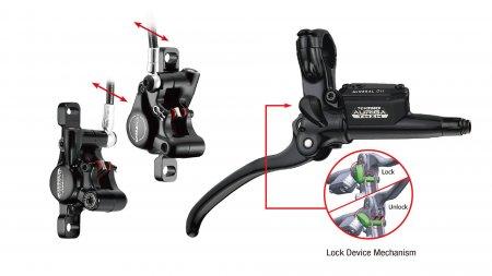 ensemble freins Tektro Auriga Twin+ HD-E745