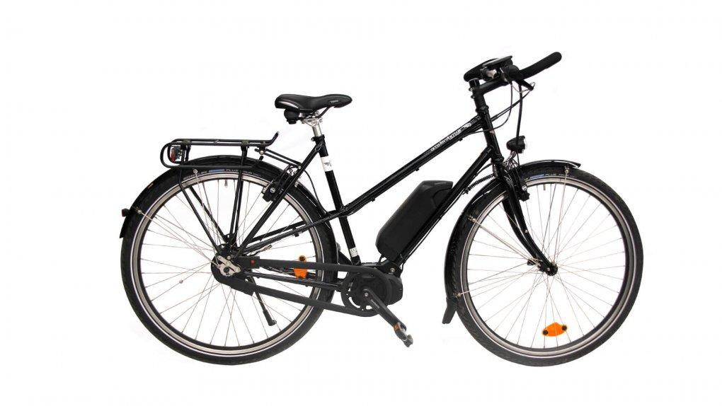 """Vélo électrique Opal Trapèze 28"""" avec moteur Shimano STEPS"""