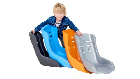 Siège Toddler bleu pour biporteur ou triporteur Babboe