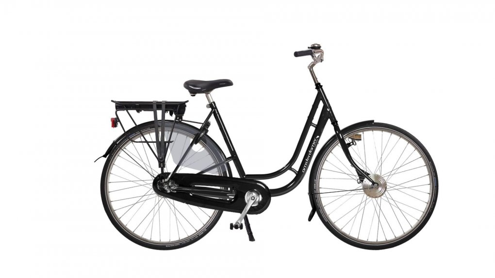 Vélo électrique hollandais Leo Exclusive,batterie arrière (2016)
