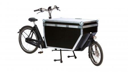 Biporteur Bakfiets STEPS avec Flightcase