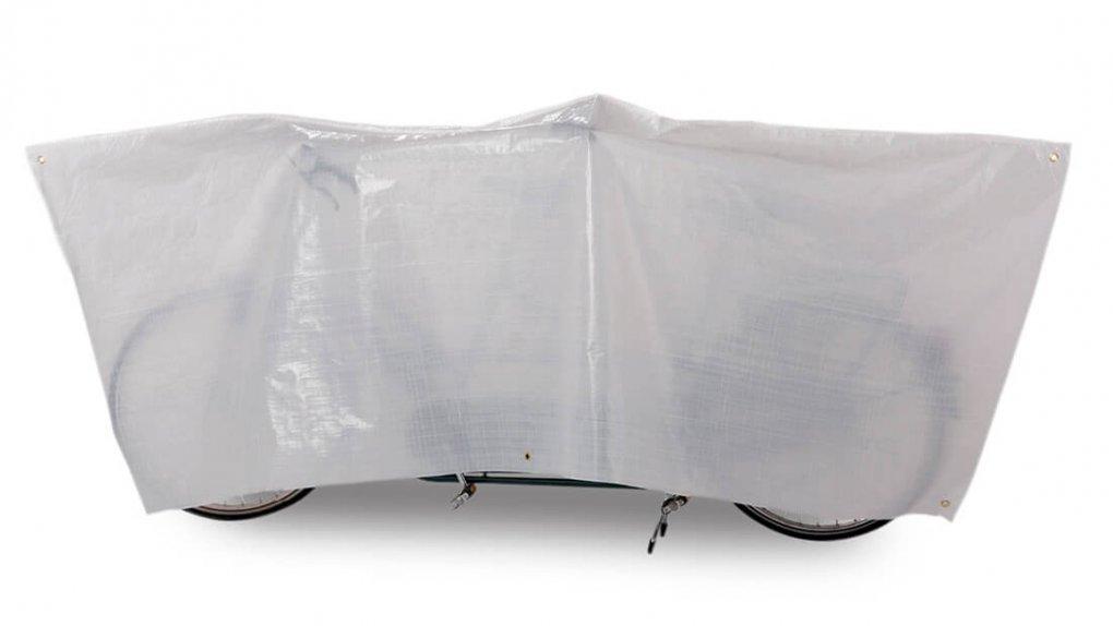 Housse de protection blanche pour tandem