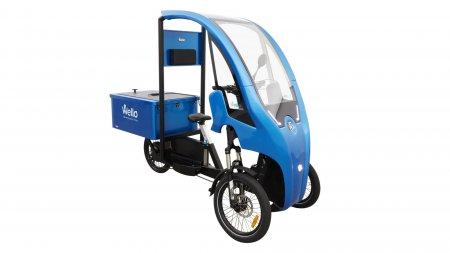 Wello ACCESS version Pick-Up avec carrosserie bleue