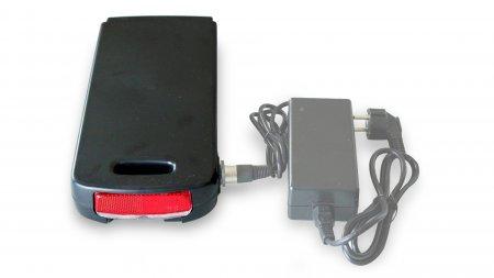 Batterie porte-bagage Qwic 417 Wh pour triporteur Babboe Big-E et Babboe Dog-E