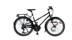 Vélo de randonnée Quartz Trapez noir 51 cm
