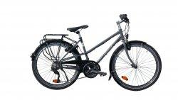 Vélo de randonnée Quartz Trapez gris 45 cm