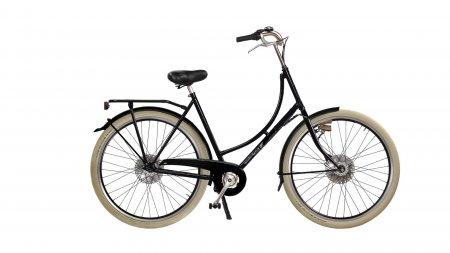 vélo hollandais Amsterdam Air Oma Classic avec deux sièges bébé