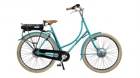 Vélo hollandais Oma Premium avec assistance électrique Bafang
