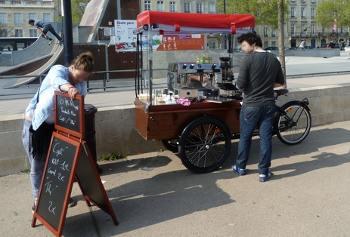 Vélo triporetur café Bordeaux