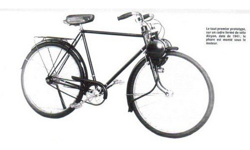 1940 - premier prototype du solex