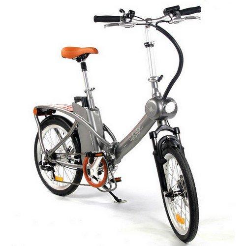 Vélo pliant électrique Vintage Velosolex 20 - couleur argent