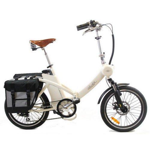 Vélo pliant électrique Vintage Velosolex 20 - couleur ivoire
