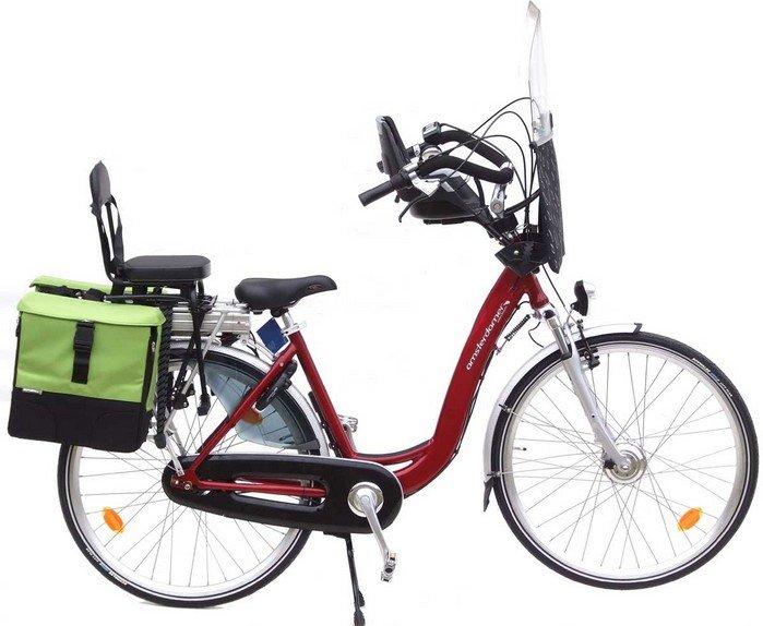Vélo électrique type lithium ion