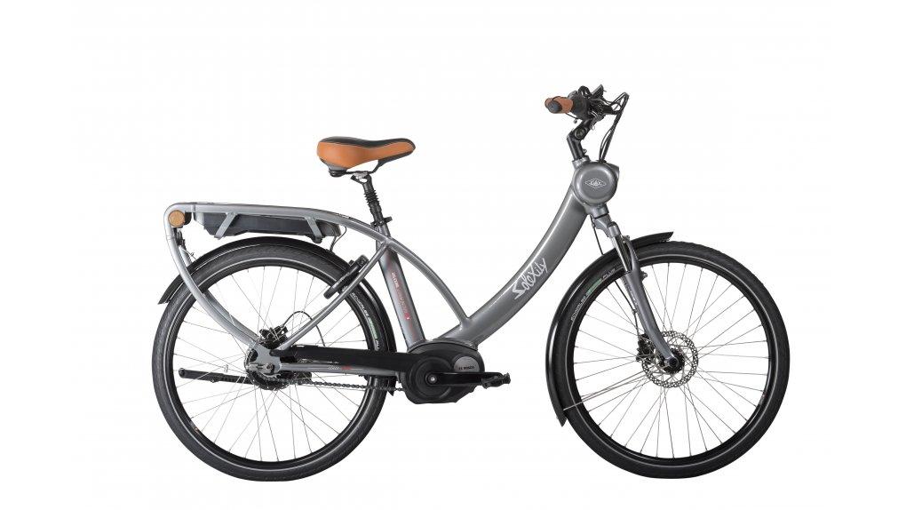 Le vélo électrique solex en gris anthracite