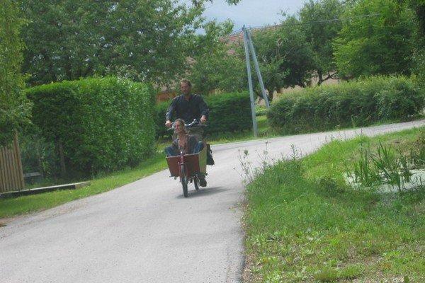 Voyage de Tanguy en vélo hollandais