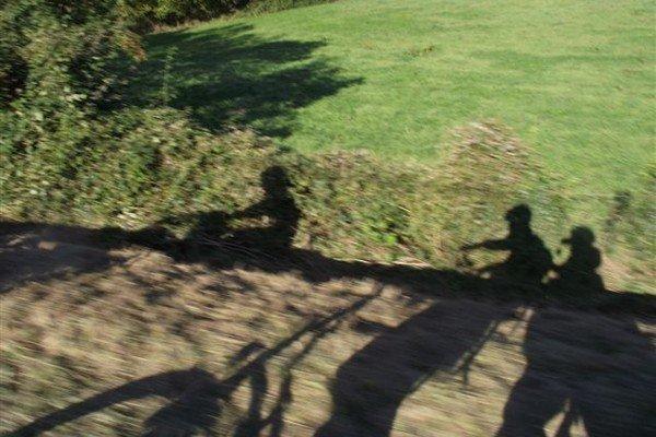 Soleil sur le vélo hollandais de Tanguy