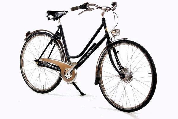 Vélo hollandais Birdy vue avant