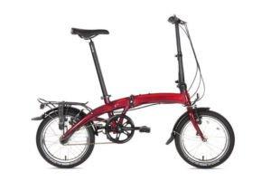 Vélo Dahon pliant curved3 rouge