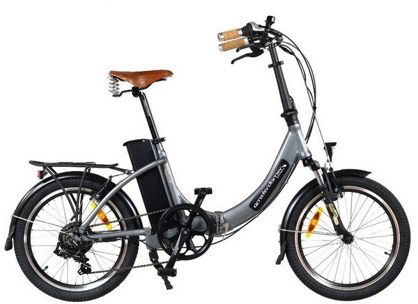 Vélo pliant électrique Move à enjambement bas Dérailleur 6 vit., batterie 320 Wh