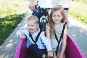 Biporteur Dolly deux enfants