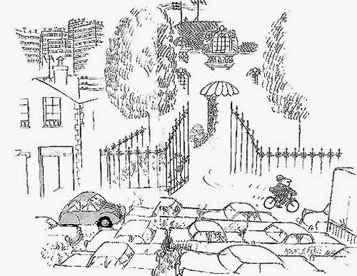 Quand le pauvre peut enfin se payer une voiture, les routes sont trop encombrées pour circuler.... le riche lui circule maintenant à vélo !
