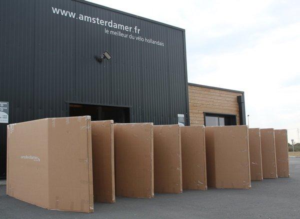 Livraison vélo Amsterdam Air