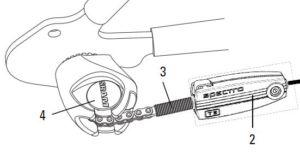 reglage sram cable