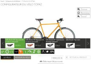 personnalisez votre vélo sur mesure