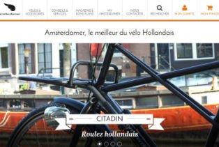 nouveau site ecommerce velo hollandais personnalisable