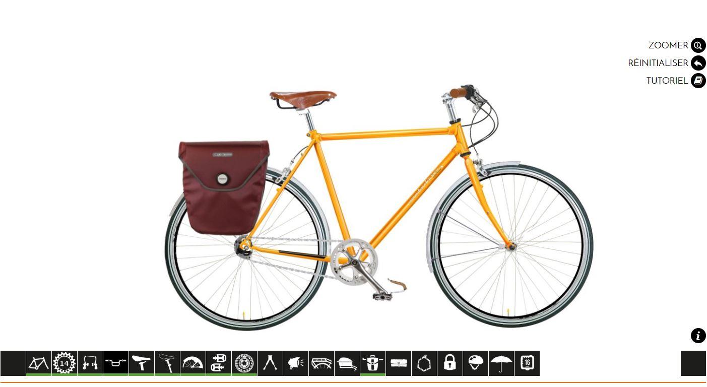 Vélo amsterdam air sur mesure