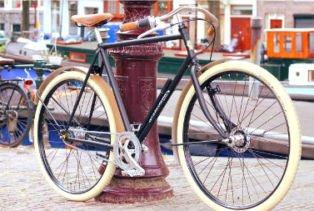 Gamme de vélo 1903 vélo vintage sportif hollandais