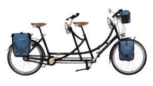 tandem pliant amsterdamer cyclosportif vu de profil et configuré avec le configurateur graphique