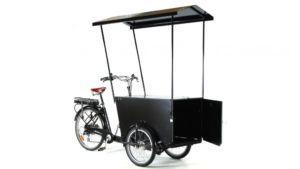Vélo professionnel triporteur vente ambulante avec nouveauté auvent