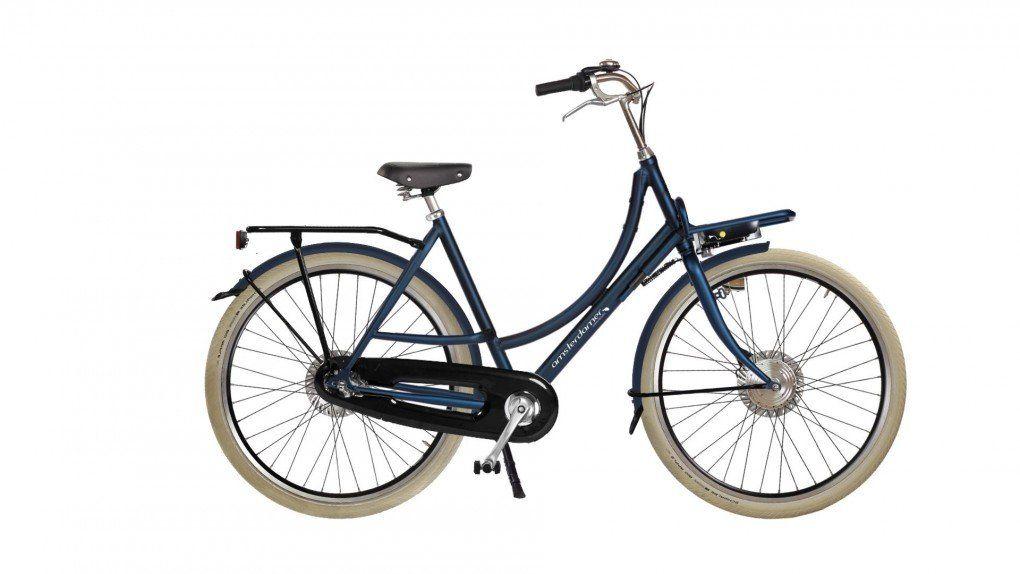 Vélo à assistance électrique Double Dutch Low sur coussins d'air