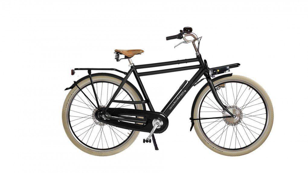 Vélo à assistance électrique Double Dutch High sur coussins d'air