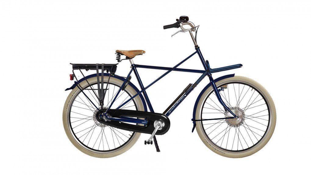 Vélo à assistance électrique Cross High sur coussins d'air