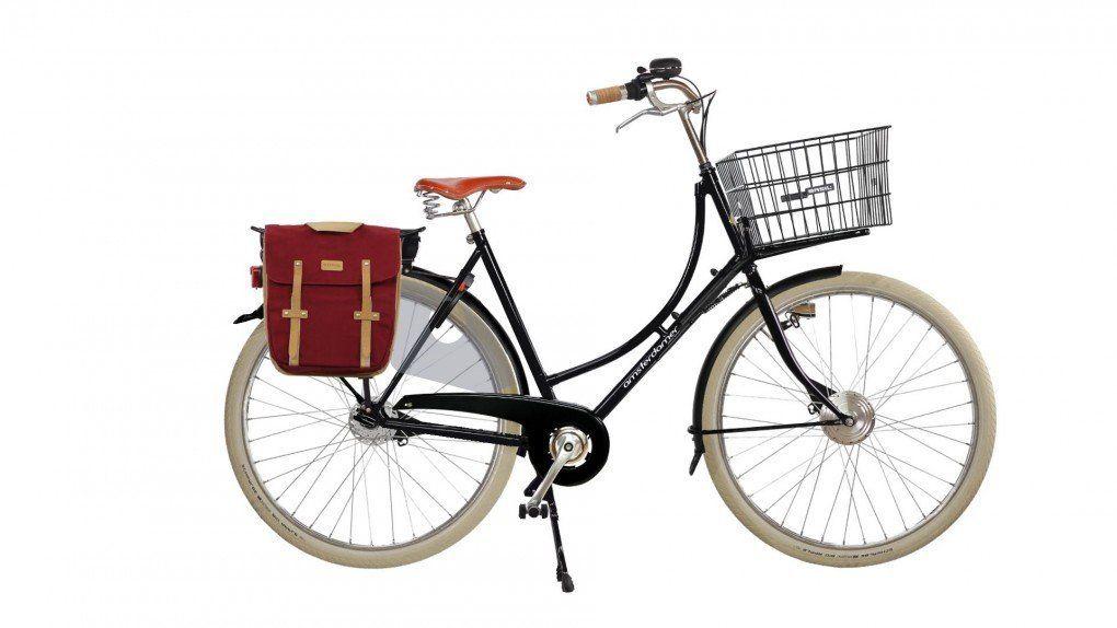 Vélo à assistance électrique Oma Classic sur coussins d'air