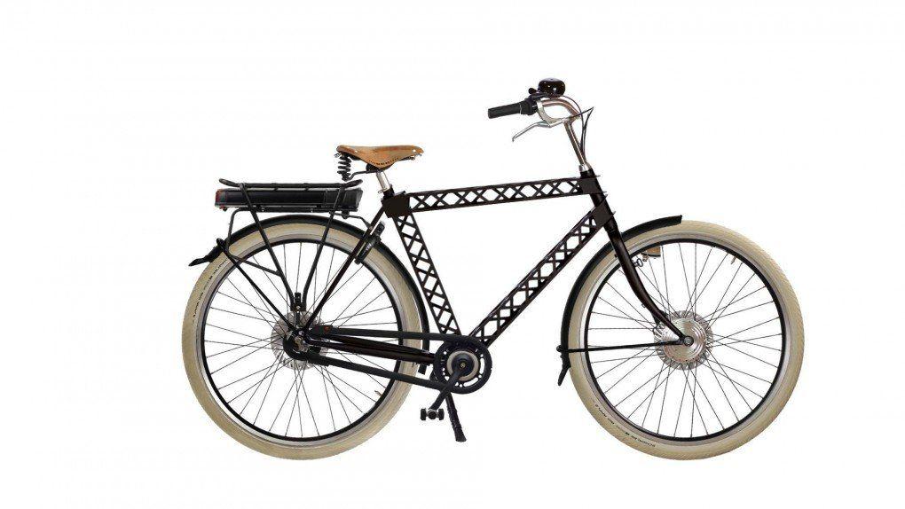 Vélo à assistance électrique Paris FL sur coussins d'air