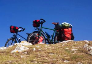 Vélos de cyclotourisme Amsterdamer en situation