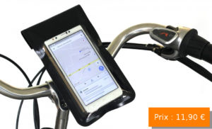 support de smartphone pour vélo idée cadeau fete des meres