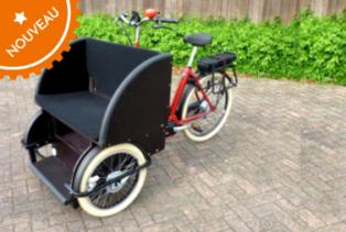 Triporteur rickshaw Amsterdam Air
