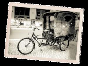 Vélo taxi histoire