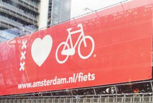Parking vélo électrique vélo ville