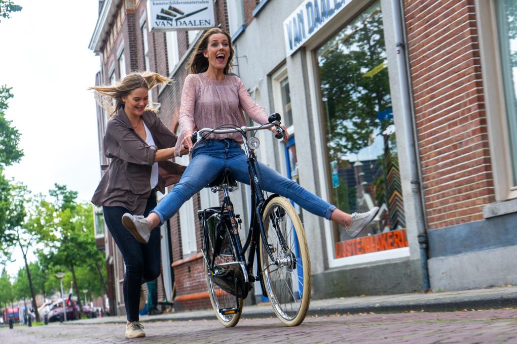 Style et qualité vélos amsterdam air